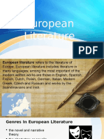 European Literature [PowerPoint]