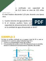 Clase 11 Ley Darcy Ejercicios 11-03-19