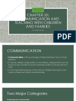 Chapter 35 Communication in Children - Pilliteri