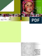 Programa Crecimiento Desarrollo Temprano Niñez