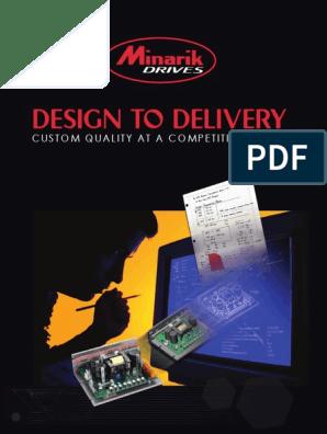 NEW Minarik MM10-115AC-PCM Adjustable Brushed DC Speed Controller Drive 0-90V