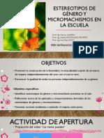 Estereotipos de Género y Micromachismos en la Escuela