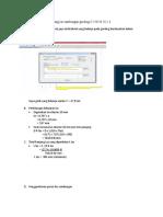 Perhitungan Keperluan Panjang Las Sambungan Gording C 150