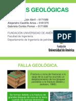 FALLAS GEOLÓGICAS.