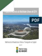 Projetos de Melhoria Da Mobilidade Urbana