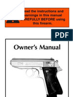 Walther PPK-S Manual