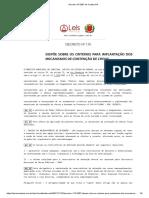 Decreto 176 2007 de Curitiba PR