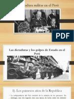 La Dictadura Militar en El Perú