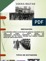 La Dictadura Militar