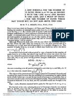 Lattice Paths Formula