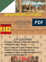 Mexico Durante La Colonia
