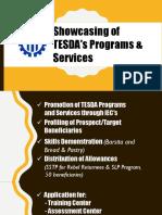 TESDA Programs