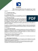 Reglamento de tesis FLACSO