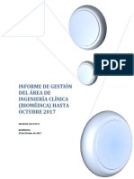 Informe de Gestion Ingenieria Clínica HastaOCTUBRE 2017