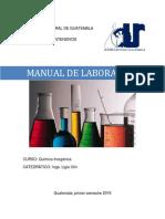 Manual de Química Inorgánica 2019