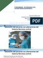 Valoración Del Paciente Con Alteraciones Del Sistema Nervioso Central