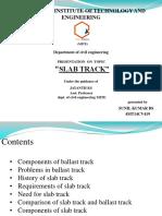 Slab trackslab track