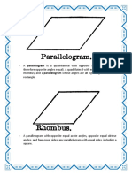 A parallelogram is a quadrilateral with opposite sides parallel.docx