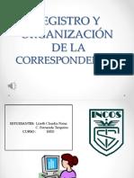 Registro y Organización