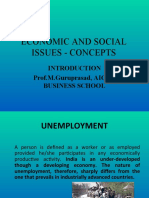 Economic and Social Issues - Concepts