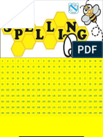 format for spelling bee contest