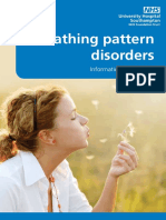 Breathing Pattern Disorders Patient Information