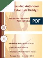 Etica Profesional Oralia