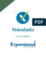 SIMULADO EXPONENCIAL