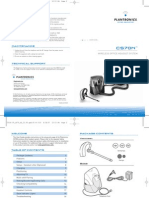 Plantronics CS70N User Guide