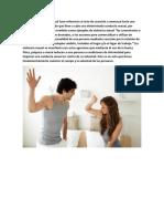 El término violencia sexual hace referencia al acto de coacción o amenaza hacia una persona con el objetivo de que lleve a cabo una determinada conducta sexual.docx