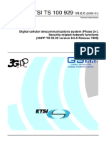 ETSI TS 100 929 V8.6.0 Security-related Network Functions