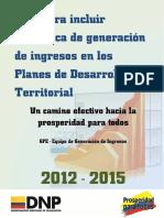 Cartilla Plan de Desarrollo Territorial