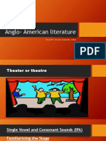 Anglo- American Literature