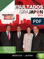 AGS-Memoria Gira Japón 2013