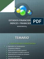 1.1. Estados Financieros e Indices Financieros