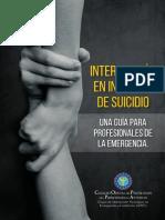 Intervención en Intentos de Suicidio
