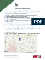 Indicaciones Para Examenes Medicos - Cantella
