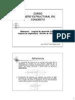 C10.-Adherencia, Ld,Le Bn