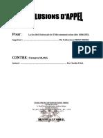 CONCLUSION d'APPEL SONATEL contre FAMARA.docx
