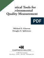 (Applied environmental statistics) Douglas E. Splitstone, Michael E. Ginevan - Statistical Tools for Environmental Quality Measurement-Chapman & Hall_CRC (2004).pdf