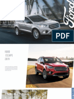 Ford Escape 2019 Catalogo Descargable