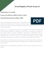 Conflicto y paz en Colombia.docx