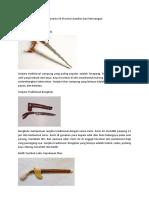 35 Senjata Tradisional Indonesia 34 Provinsi Gambar Dan keterangan.docx