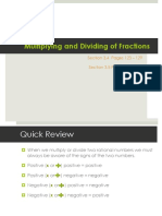 3.4-3.5 Multiplying and Dividing Fractions