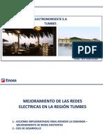 2.- Mejoramiento de Las Redes Electricas