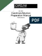 Carolinas Manual