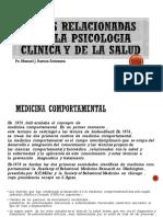 Areas Relacionadas Con La Psicologia Clinica y De