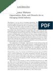 Microfinance Matures