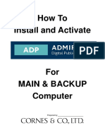 How to Install and Activate Adp License Key