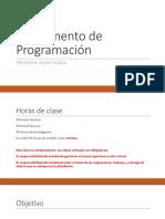 Fundamentos Programación